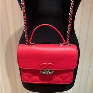 Chanel top handle bag